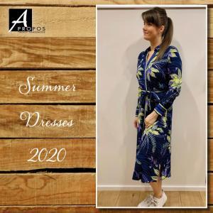 120010 8 [Dress (long)] 009995 Print Bl