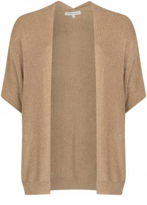 121025 6 [Cardigan Knitwear] 002020 Mid Sand