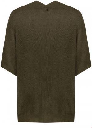 121025 6 [Cardigan Knitwear] 006200 Olive